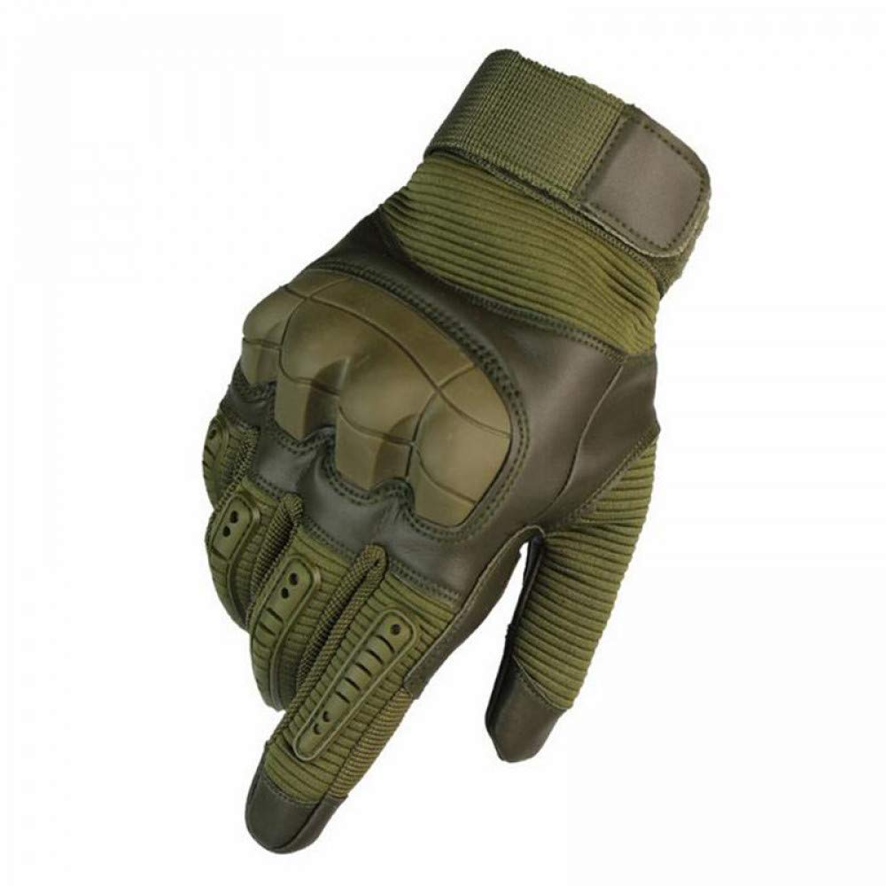 GLOVESCOA Taktische Handschuhe Vollfinger Outdoor Sports Wandern Camping Radfahren Herrenhandschuhe Militär Rüstung Schutz Shell Handschuhe 3 Farben