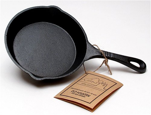 Old Mountain Cast Iron Preseasoned Skillet