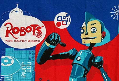 Robots the Movie Fabric Panel - Rodney Copperbottom