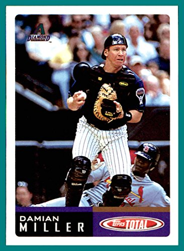 2002 Topps Total #386 Damian Miller arizona diamondbacks