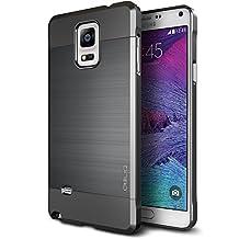 Galaxy Note 4, OBLIQ [Slim Meta][Titanium Space Gray] - Thin Slim Fit Bumper Armor Scratch Resist Metallic Finish Dual Layered Heavy Duty Hard Protection Hybrid High Quality Case (for Galaxy Note 4)