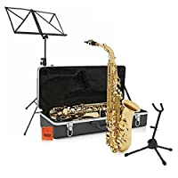 Alto Saxophone Complete Package Light Gold