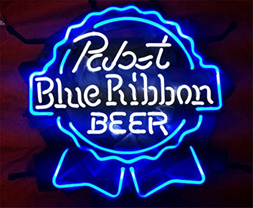 (Pabst Blue Ribbon Beer LARGER Neon Sign20