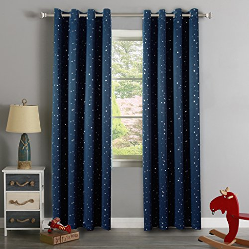 H versailtex cute star war pattern thermal insulated for Thermal star windows
