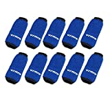 Blue 10PCS Sports Elastic Finger Sleeve Support Protector