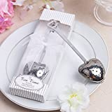 20pcs Wedding Favor Gift Love Heart Shaped Tea Infuser Spoon