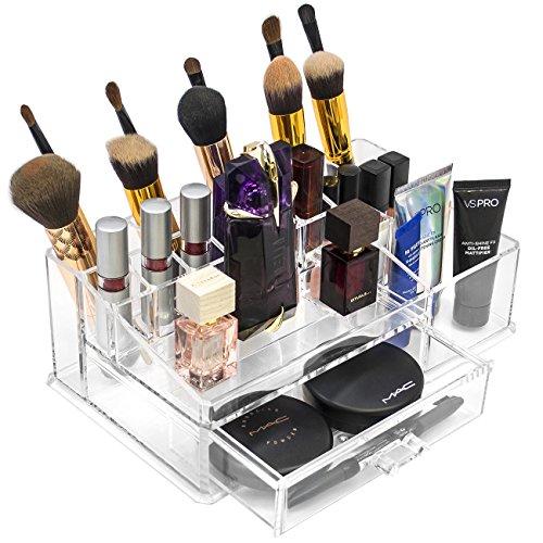 Sorbus Cosmetics Interlocking Stackable Interchangeable