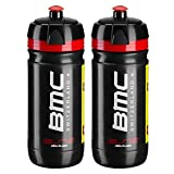 BMC Elite Corsa Water Bottles - 550ml/ea (2 Pack)