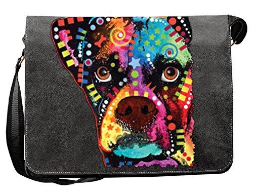 c488c1ec50d31 Pop Art Canvas Boxer Cubism peppige Umhängtasche mit Art Style Hunde Motiv  -rechtsanwaeltin-schwarz.de