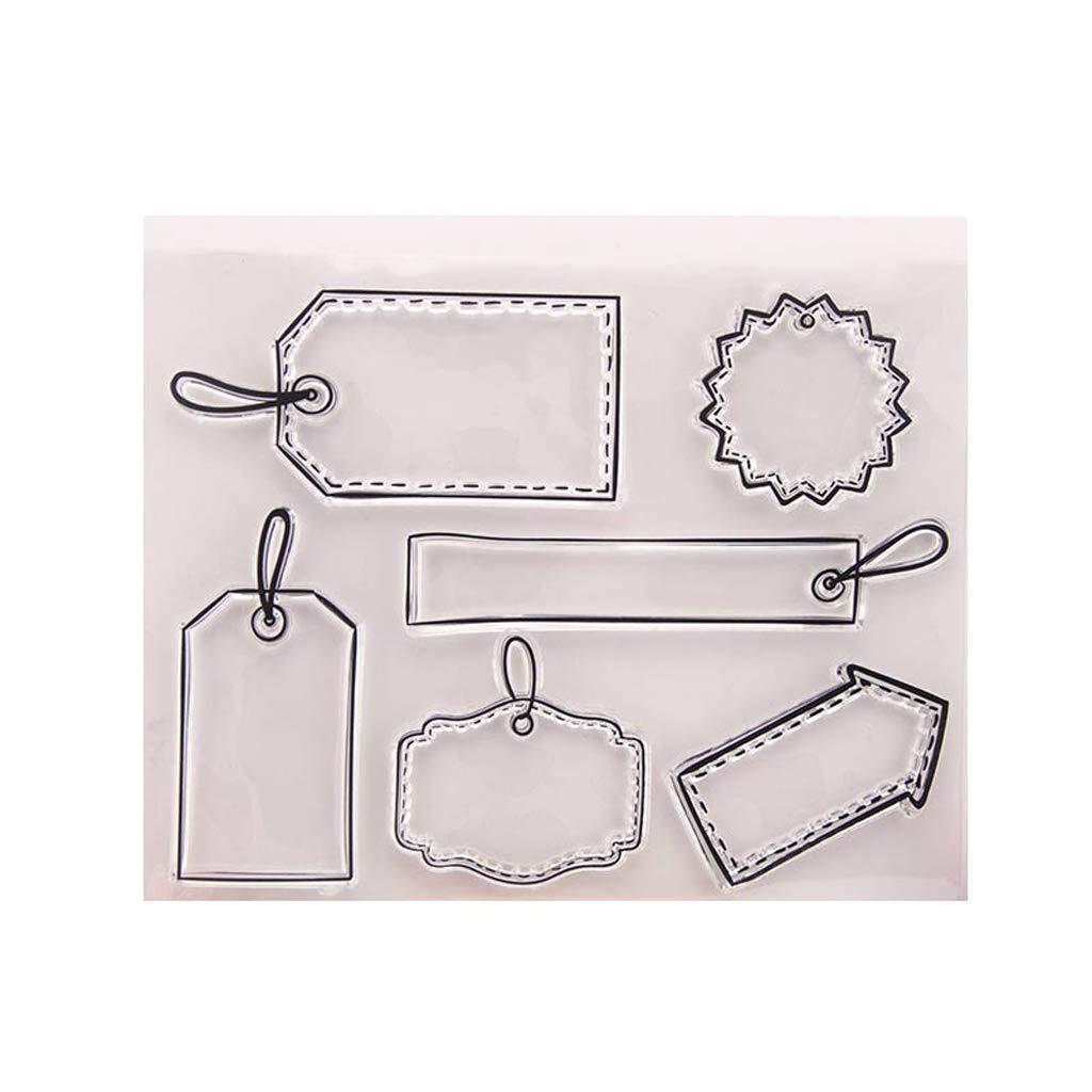 Mentin Marque Tampons Clairs Transparents En Silicone PVC Pour DIY Loisirs Créatifs Cadeau Noel Enfant
