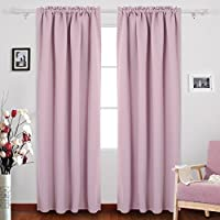 Deconovo Rod Pocket Blackout Curtains Thermal Insulated...