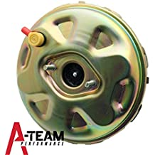 A-Team Performance 11' Delco Style Brake Booster Gold GM A, F, X Body PB11003CN RPB1003