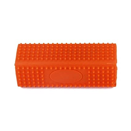 UEETEK Sofa colchón ropa pelusa removedor pelo de las mascotas piel removedor limpiador cepillo naranja