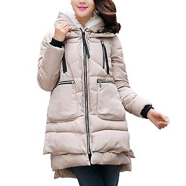 I Uend 2019 Damen Winter Jacke Parka Mantel Winterjacke Warm