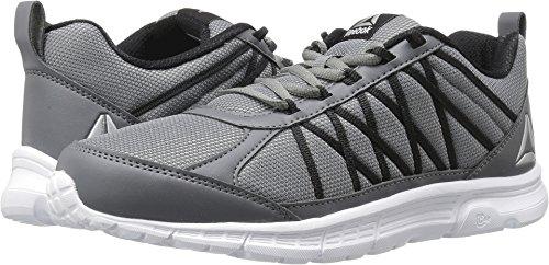 Lega Sneaker Da Uomo Speedlux 2.0 Reebok In Metallo Nero / Bianco / Argento