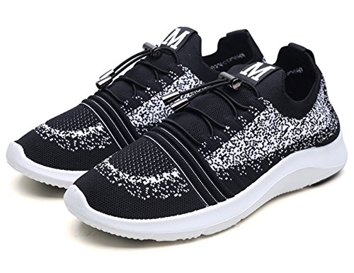 Fitness Blanc Adulte Mixte Gym de Multisports Chaussures H298 Chaussures Baskets Noir de GNEDIAE Sneakers Outdoor athlétique Course Sports fpIxw
