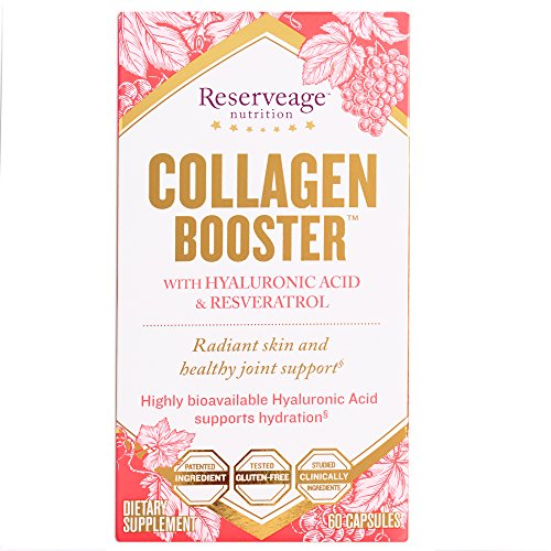 Reserveage - Collagen Booster with Resveratrol, Helps Support Radiant and Healthy Skin, 60 Capsule