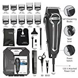 Wahl-Clipper-Elite-Pro-High-Performance-Haircut-Kit-for-men-with-Hair-Clippers-Secure-fit-guide-combs-with-stainless-steel-clips-By-The-Brand-used-by-Professionals-79602