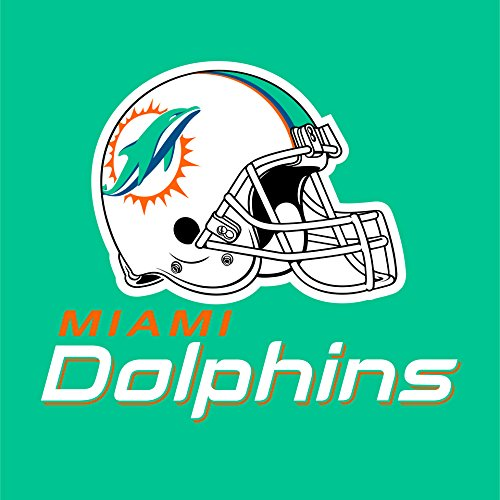 Creative Converting 16 Count Miami Dolphins Lunch Napkins