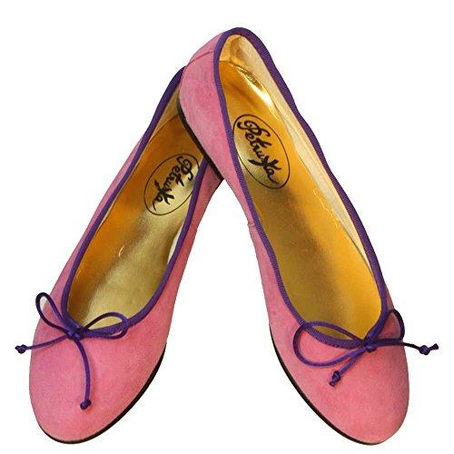 Ballerinas Jaipur Wildleder Pink Pink / Lila