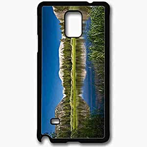 Unique Design Fashion Protective Back Cover For Samsung Galaxy Note 4 Case Beautiful Nature Pictures Nature Black