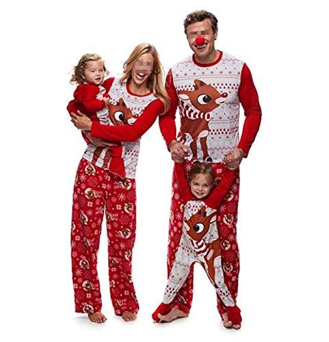 Pijamas Navidad Dos Piezas Familiares