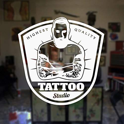 hllhpc Salón de Tatuajes Tatuajes de Pared Tatuaje de la Tienda ...