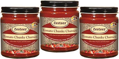 Zesteez Premium Tomato Chunky Chutney product image