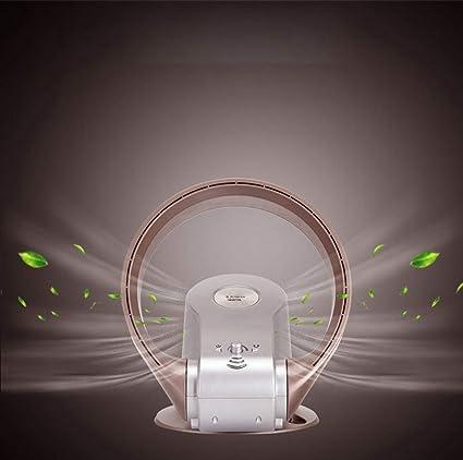 Ventilador sin aspas, ventilador de la torre de enfriamiento, ventilador de enfriamiento del flujo de aire, inclinación vertical ajustable, temporizador de apagado automático, con control remoto,Gold: Amazon.es: Hogar
