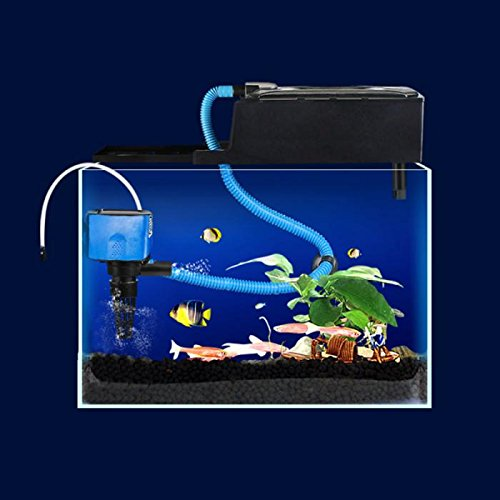 3 in 1 multifunction fish aquarium filter filtration for Fish tank riddle