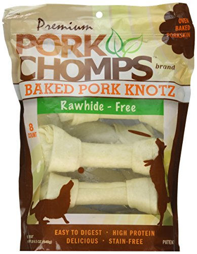 (Premium Pork Chomps Baked Knotz Pork, 7