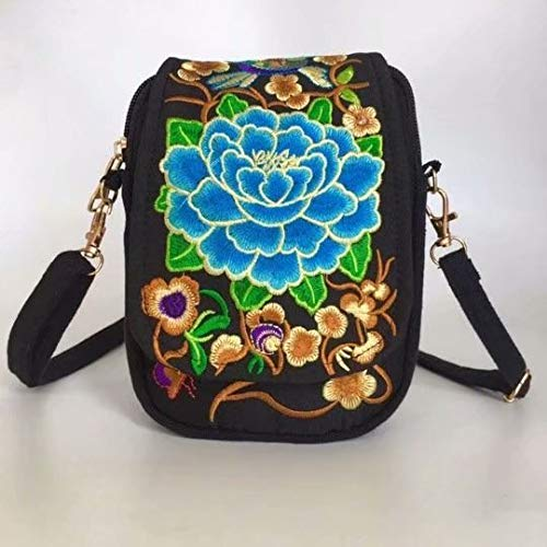 4adbd7a9b600 Women Handbags LINSUNG Ladies Vintage Printing Canvas Messenger Bag ...