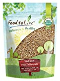 Organic KAMUT Khorasan Wheat Berries — 100% Whole Grain, Non-GMO, Kosher, Sproutable for Wheatgrass, Bulk (by Food to Live) (3 Pounds)