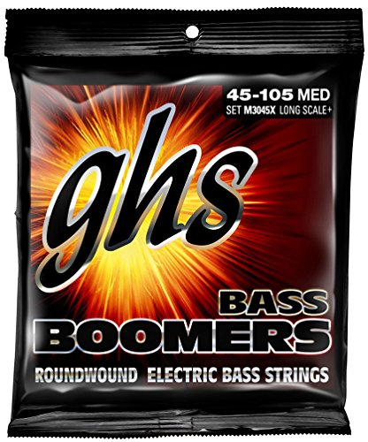 GHS Boomers Long Scale Plus Bass Guitar Strings (Scale Long)