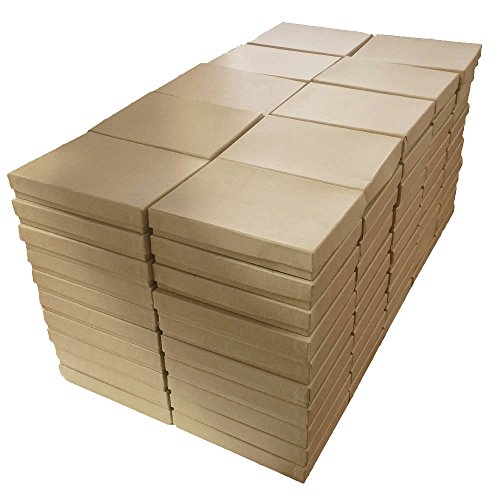 Kraft Cotton Filled Jewelry Packaging Gift Boxes #53 - Pack of (Kraft Cotton Filled Jewelry)