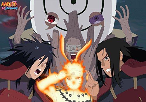 Naruto Shippuden Uzumaki Uchiha Madara Senju Hashirama Poster