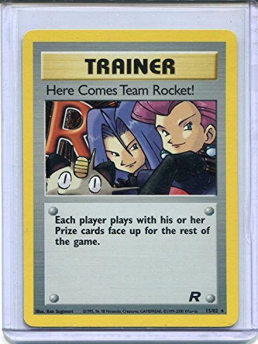 Here Comes Team Rocket! Holo Rare Pokemon Trainer #15 Photo - Pokemon Gaming