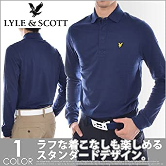 Lyle & Scott Camisa de Harris Polo de Manga Larga para Hombre ...