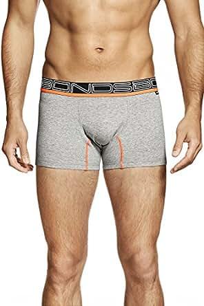 Bonds Men's Active Fit Trunk, Grey, XX-Large