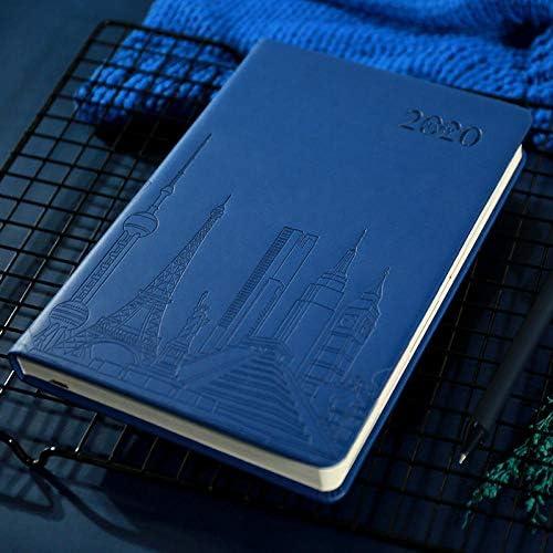Tagesplaner 2020 2020 Planen Sie diesen Kalender Planen Sie dieses Notizbuch-Navy 25k Taschen-Tagebuch 2020