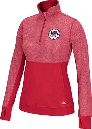 NBA Womens Larger Preferred Logo Climalite Twist 1//2 Zip Pullover