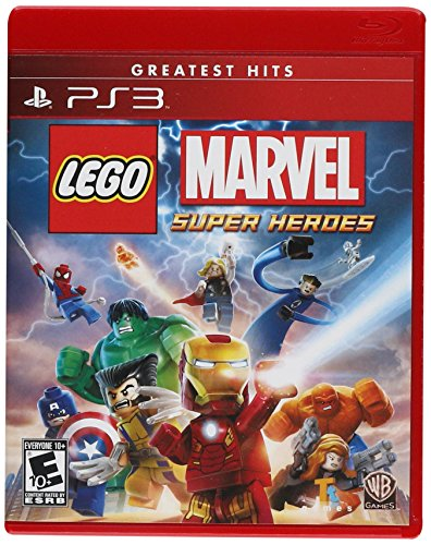 Lego: Marvel Super Heroes - PlayStation 3 (Best Non Violent Games)