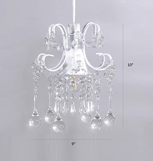 large crystal chandelier table top centerpieces for.htm mini style crystal chandelier pendant light white  1 light  crystal chandelier pendant light white