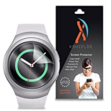 XShields© (5-Pack) Screen Protectors for Samsung Gear S2 Smartwatch (Ultra Clear)