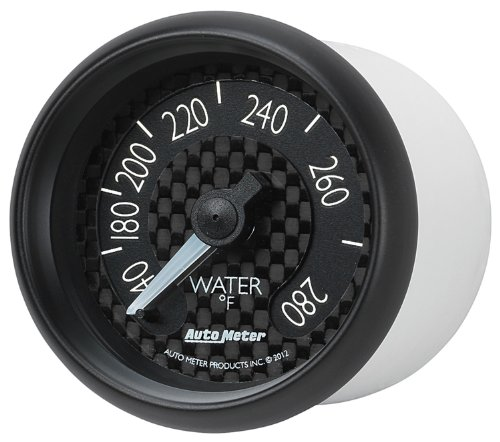 Auto Meter 8031 GT Series Mechanical Water Temperature Gauge by Auto Meter (Image #1)