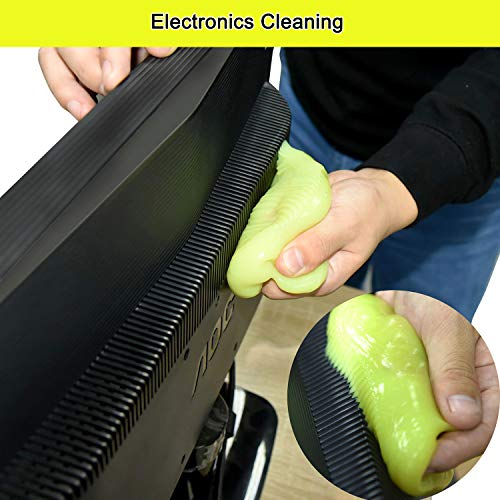 Keyboard Cleaner Universal Cleaning Gel for PC Tablet Laptop Keyboards Car Vents Cameras Printers