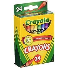 Crayola Box of Crayons Non-Toxic Color Coloring School Supplies, 24 Count, 3 Pack (52-0024-3)