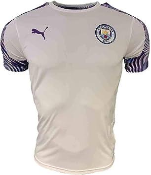PUMA 2019-2020 Manchester City - Camiseta de fútbol (blanco ...