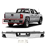 BUMPERS THAT DELIVER - Chrome, Steel Rear Step Bumper Assembly for 2014-2018 Chevy Silverado GMC Sierra 1500 w/Corner Steps 14-18, GM1103176