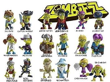 18x Sammelfiguren Zombiezz Single Serie 2  komplett